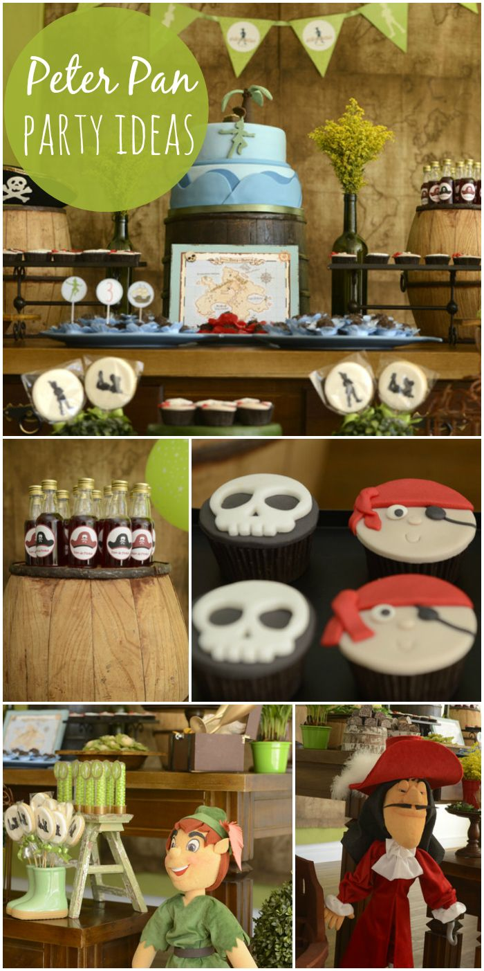 So much magic at this wonderful Peter Pan boy birthday party!  See more party ideas at CatchMyParty.com!