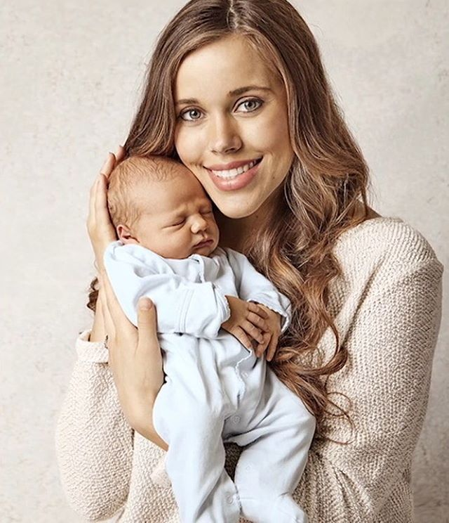 Jessa and her newest son, Henry Wilberforce Seewald :)