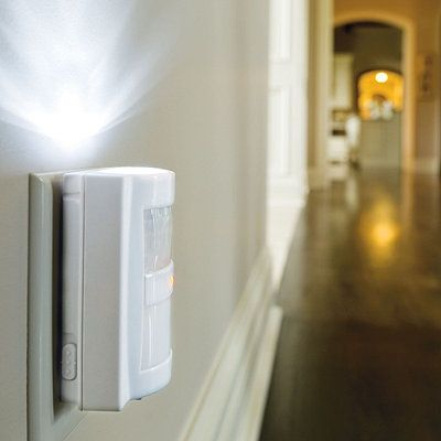 Safety lighting for the home can lower your insurance as well