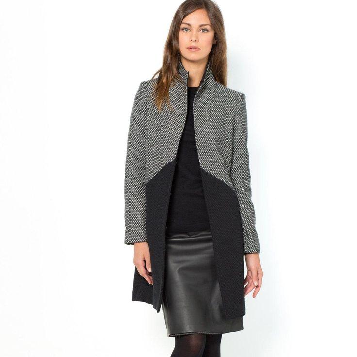 manteau femme la redoute promo manteau achat manteau 35 laine laura clement prix promo - Manteau Femme Color