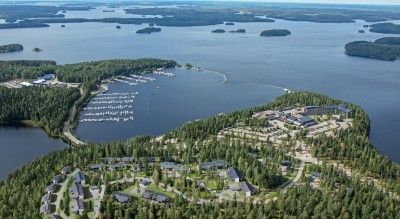 Viele Reisetipps für Finnlandreise. Gegend Ukonniemi in Imatra.