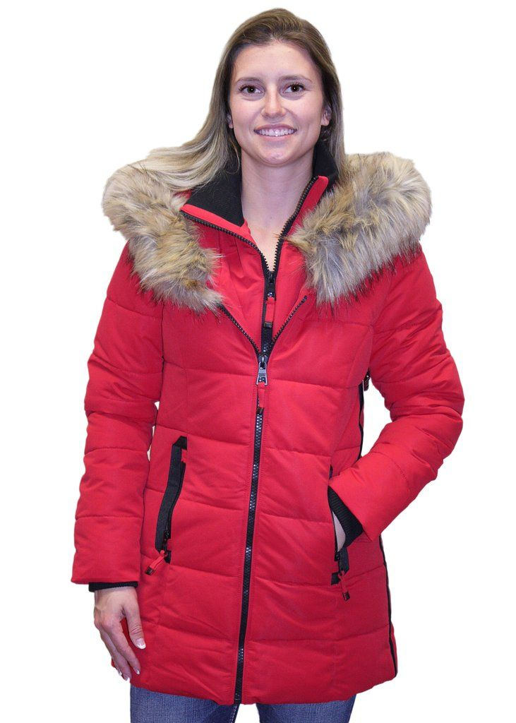 Point Zero Poly Oxford Hooded Eco Down Jacket Jackets