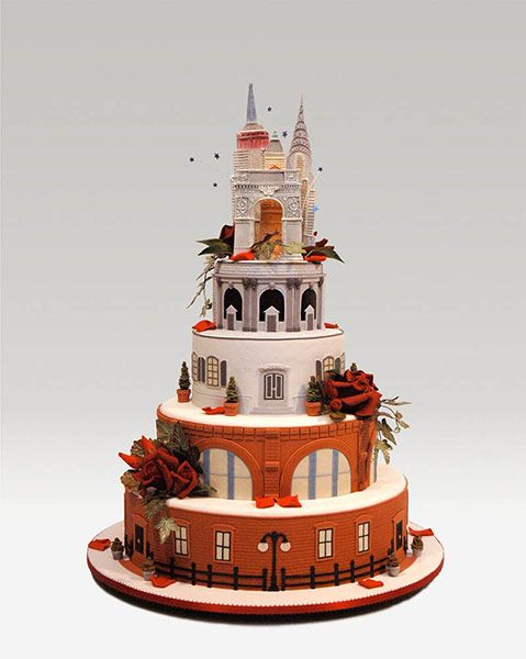 The Cake Artist Cafe Highland Ny : Ron Ben-Israel : Good Times 10 Sugar Crafter Pinterest