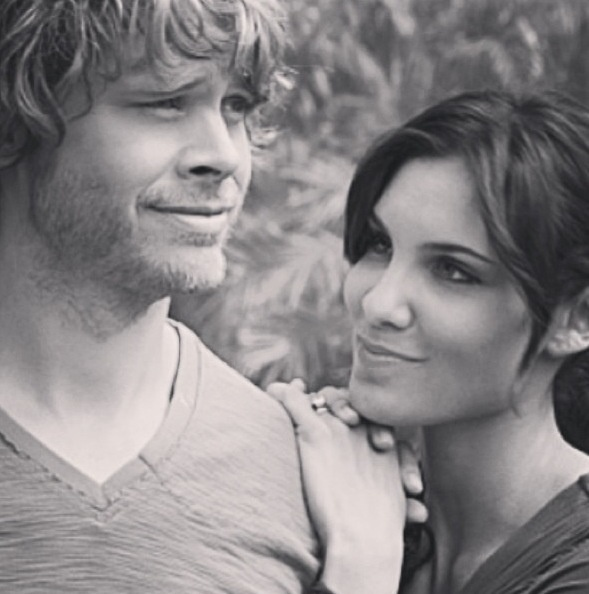 NCIS LA- These two. Deeks and Kensi Love!... is this a scene? if so it had to be when they were posing as a couple:)