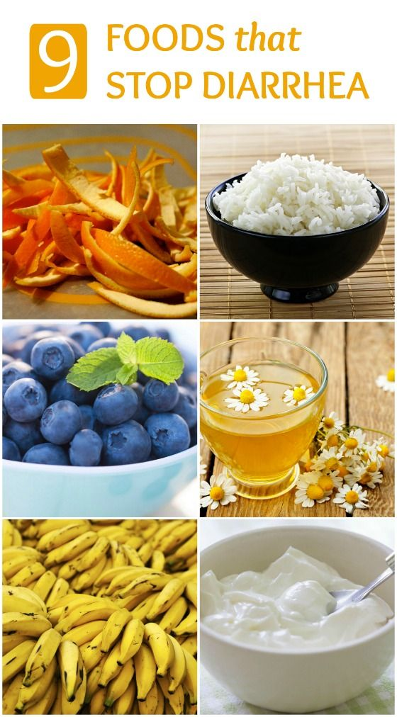 What Foods Stop Diarrhea Fast