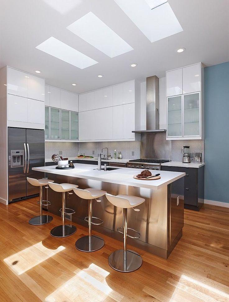die 25+ besten große kücheninsel ideen auf pinterest | große küche ... - Große Küche