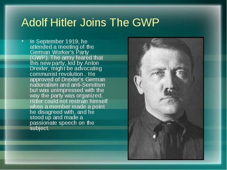 a history of the early years of adolf hitler 73 shocking facts about adolf hitler  hitler used the pseudonym herr wolf early in his career  but changed it to alois hitler in 1876, 13 years before adolf.
