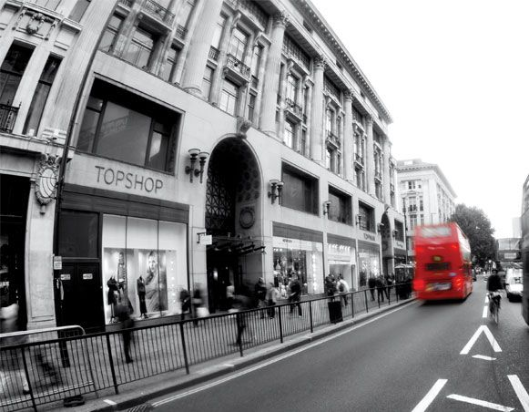 Top Shop 214 Oxford Street London W1w 8lg London S
