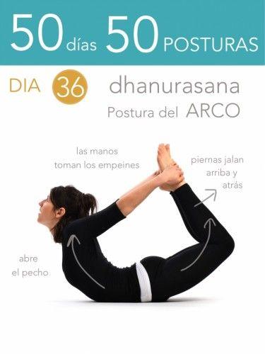 50 d�as 50 posturas. D�a 36. Postura del arco