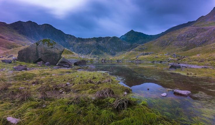 Late summer in Snowdonia, Wales