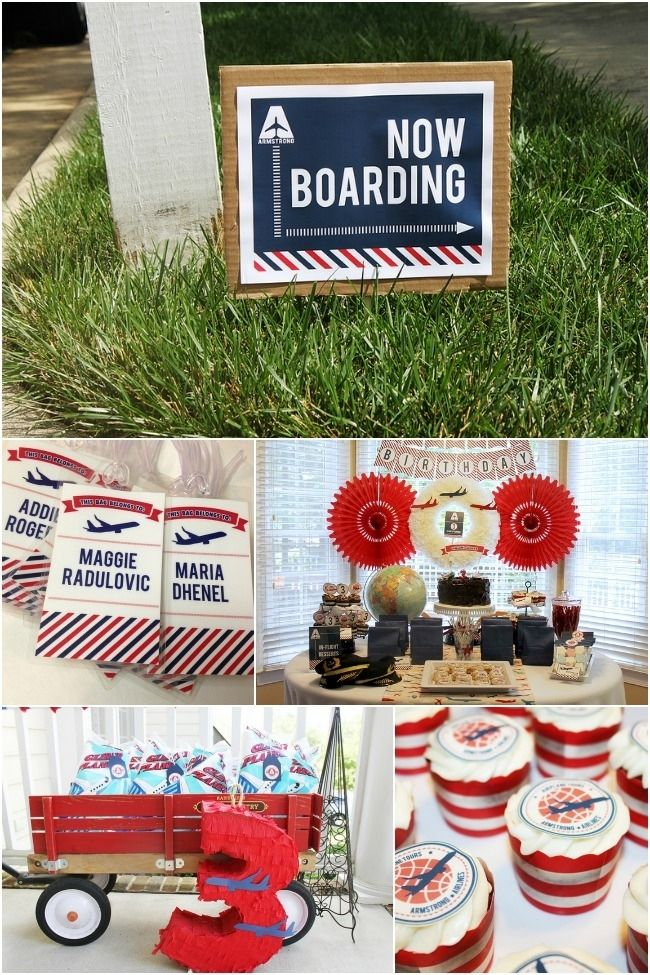 airplane birthday party ideas www.spaceshipsandlaserbeams.com