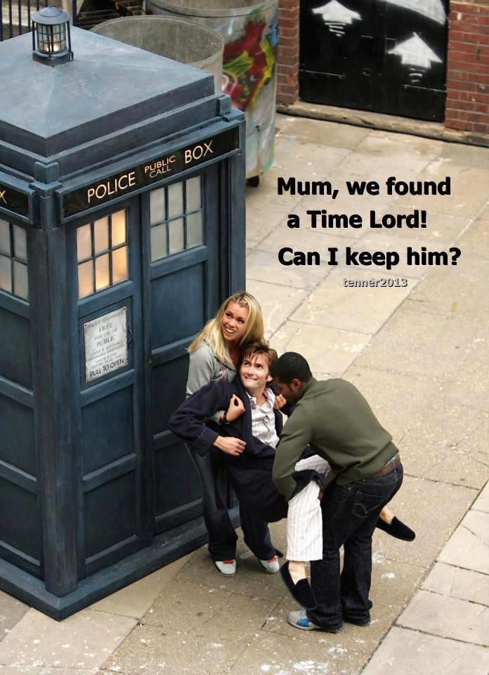 Mum, we found a Time Lord! Can I keep him?