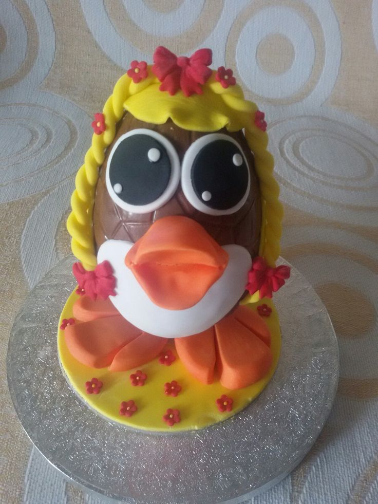 Chocolate Easter egg...duck!!!