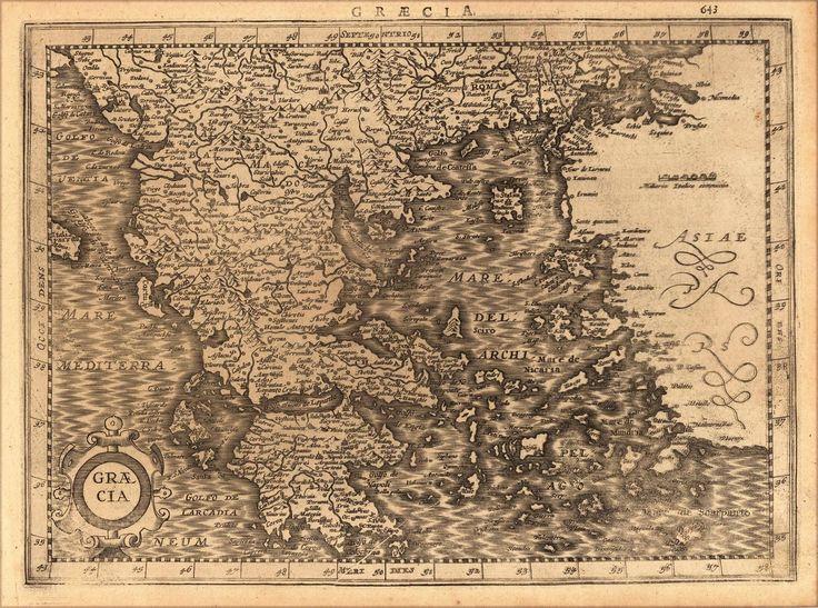 Graecia, 1632