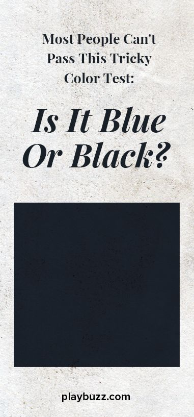 Can you pass this unique color test?