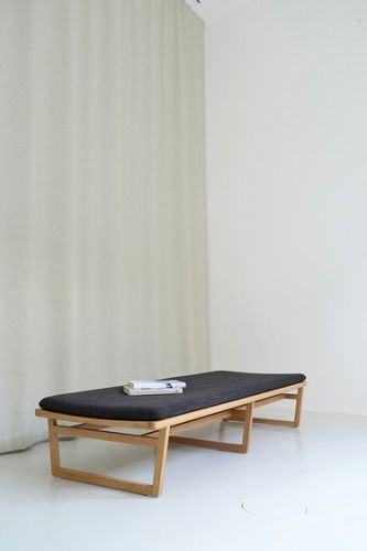 Marina Bautier Oak Bench