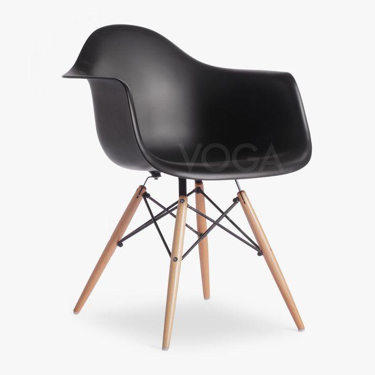 daw stuhl chair eames designerst hle voga design. Black Bedroom Furniture Sets. Home Design Ideas