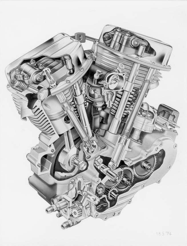 Harley-Davidson Big Twins – The Panhead   #Motorcycles #Cars ... on