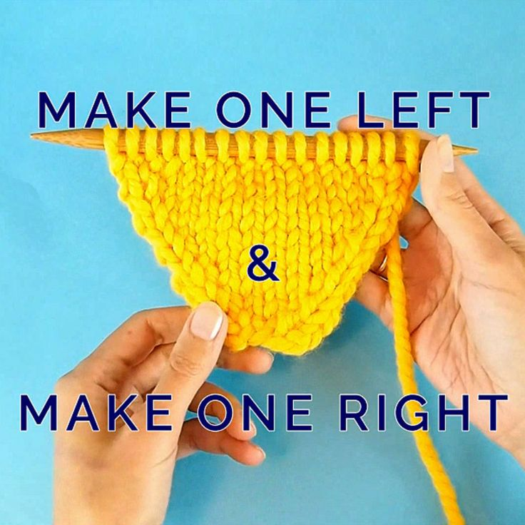 Make 1 Left and Make 1 Right