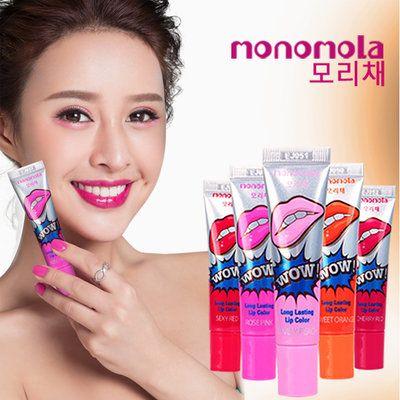 Monomola Lip Tattoo merupakan pewarna yang natural.