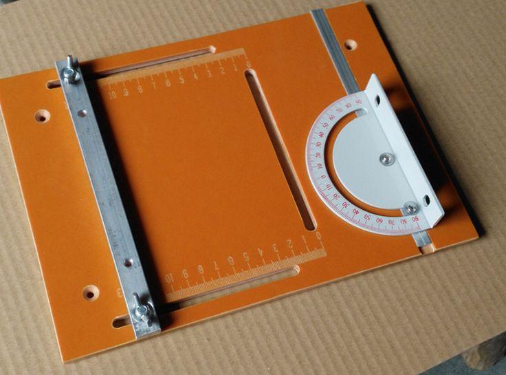 DIY graduation mini desktops table saw Panel backer 270*200*6 provide custom CNC machining