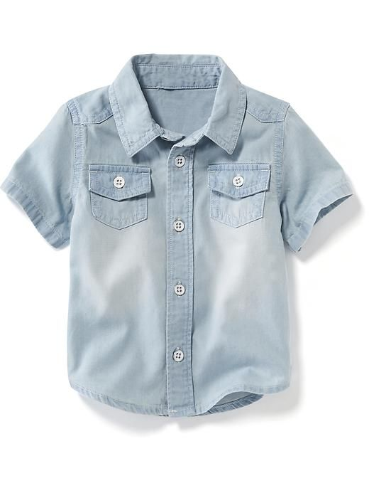 60 best kids spring wardrobe images on pinterest wolf for Chambray shirt for kids
