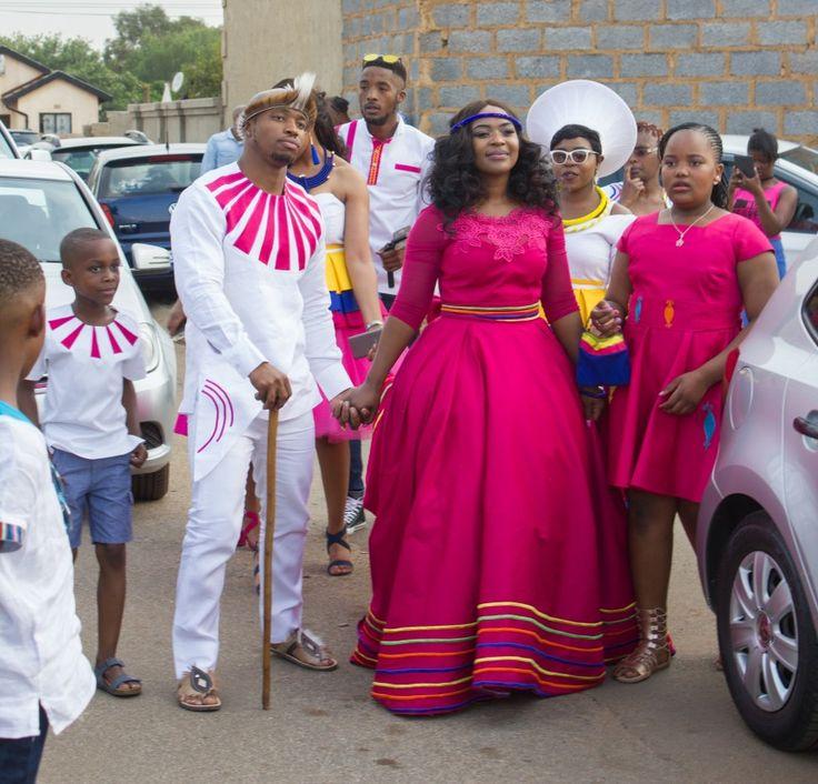 Lebo's Pedi Traditional Wedding