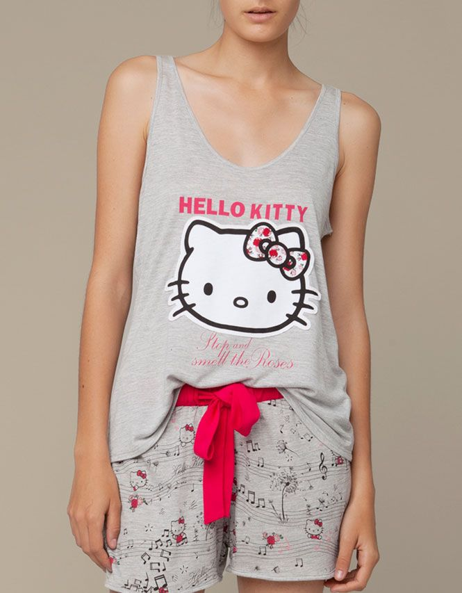 f3b218b6c1420 Hello Kitty strap top - Oysho & Friends - NEW SEASON - United Kingdom |  Modern Character in 2019 | Hello kitty clothes, Hello kitty, Hello kitty  items