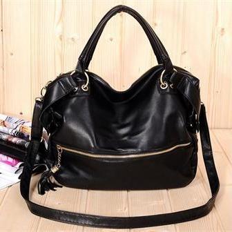 Korea in Java Style Ladies PU Leather Tote Bag <3