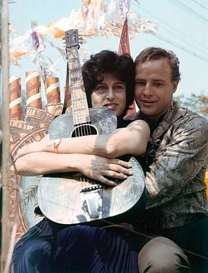 Anna Magnani and Marlon Brando/The Fugitive Kind/1959 directed by Sidney Lumet [United Artists]