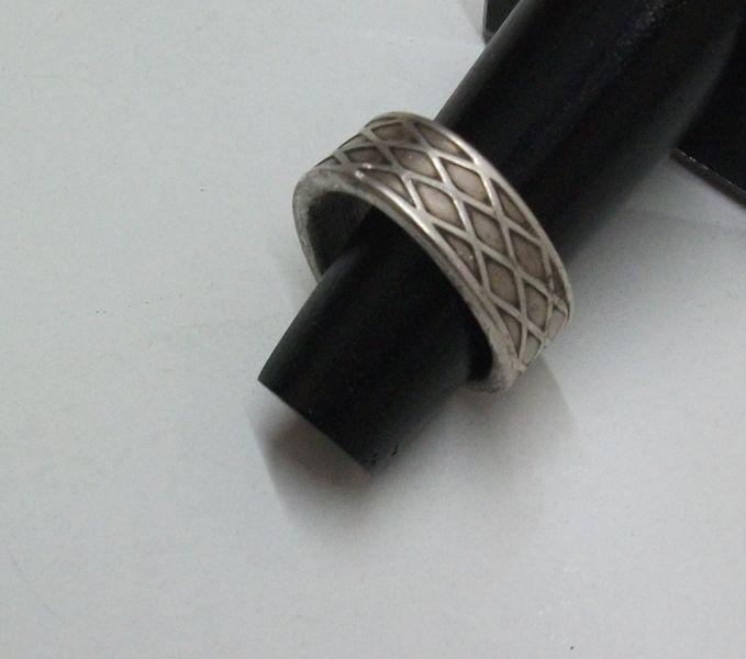 100er Bestecksilber Silberring S130 von Atelier Regina auf DaWanda.com
