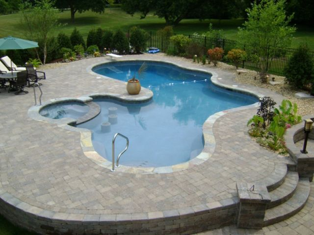 104 best images about outdoor fun pools and firepits on for Garden pool facebook