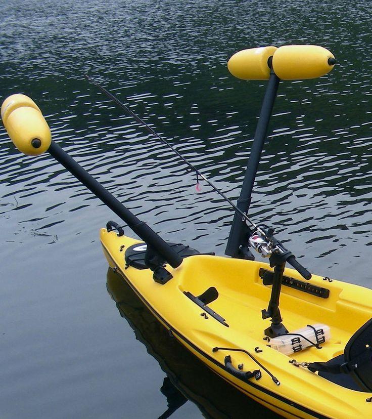 Kayak Outrigger Stabilizer  Kayak or Canoe - Boat not included - Stand to Fish | Artículos deportivos, Deportes acuáticos, Kayak, canotaje y rafting | eBay!