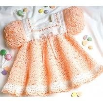 No link. Pattern is Leisure Arts. Note: simple, square yoke.: Dresses Crochet, Crochet Dresses, Crochet Baby, Peaches Sherbet, Baby Crochet, Baby Dresses, Crochet Patterns, Dresses Patterns, Sherbet Baby