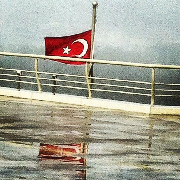 Republic of Turkey's Flag, Sabiha Gokcen International Airport, Istanbul