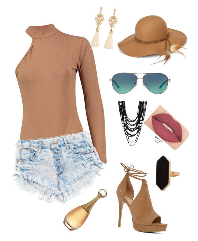 """Tan"" by jangiraldo on Polyvore featuring moda, ALDO, Steve Madden, Tiffany & Co., Smashbox y Jaeger"