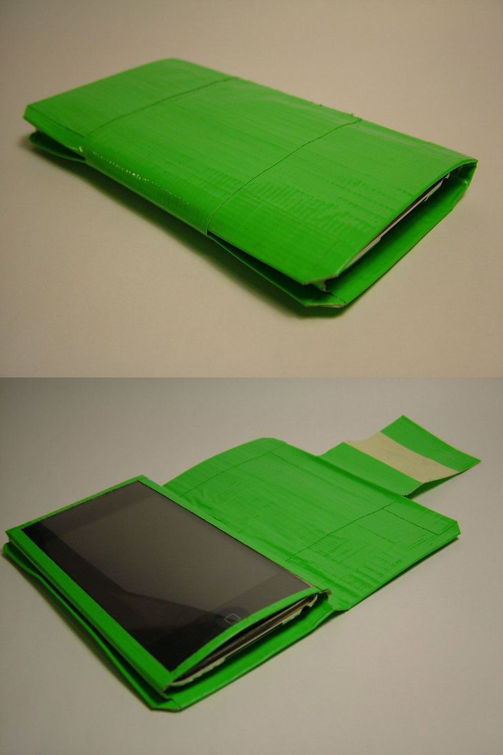 Duct tape ipod touch case by ~pouiboui on deviantART
