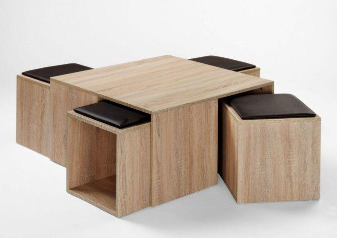 Konferenční stolek MARY 357.1 - dub Sonoma světlý (imitace)