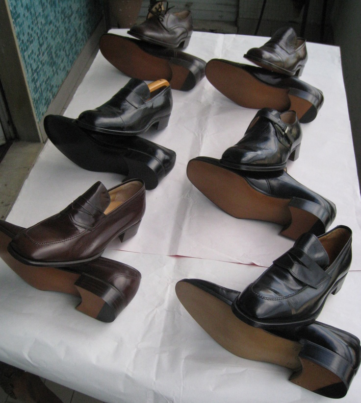 70s Leather moccasins and ceremony shoes