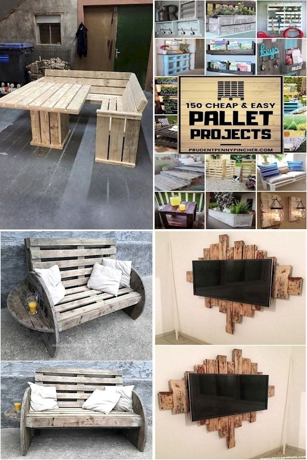Pallet Furniture Shop How To Make A Table Out Of Pallets Diy Pallet Bench Instructions In 2020 Pallet Furniture Furniture Pallet Projects Easy