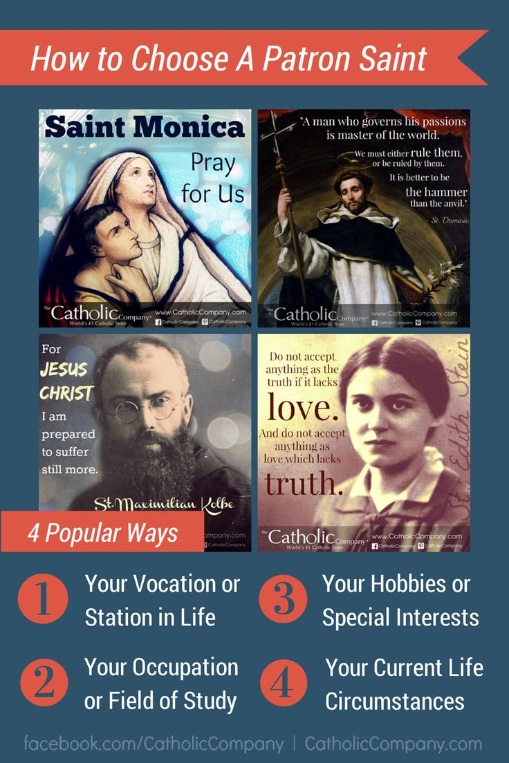 "How to ""Choose"" A Patron Saint"