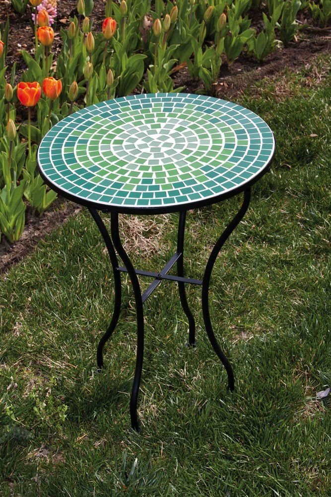 Have To Have It Palazetto Lucca 48 Inch Round Mosaic Patio Dining Set Seats 4 1299 98 Hayneedle Com Patio Table Patio Dining Set Patio