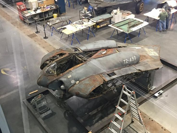 Horten Ho 229 under restoration. | Aerodynamics ...