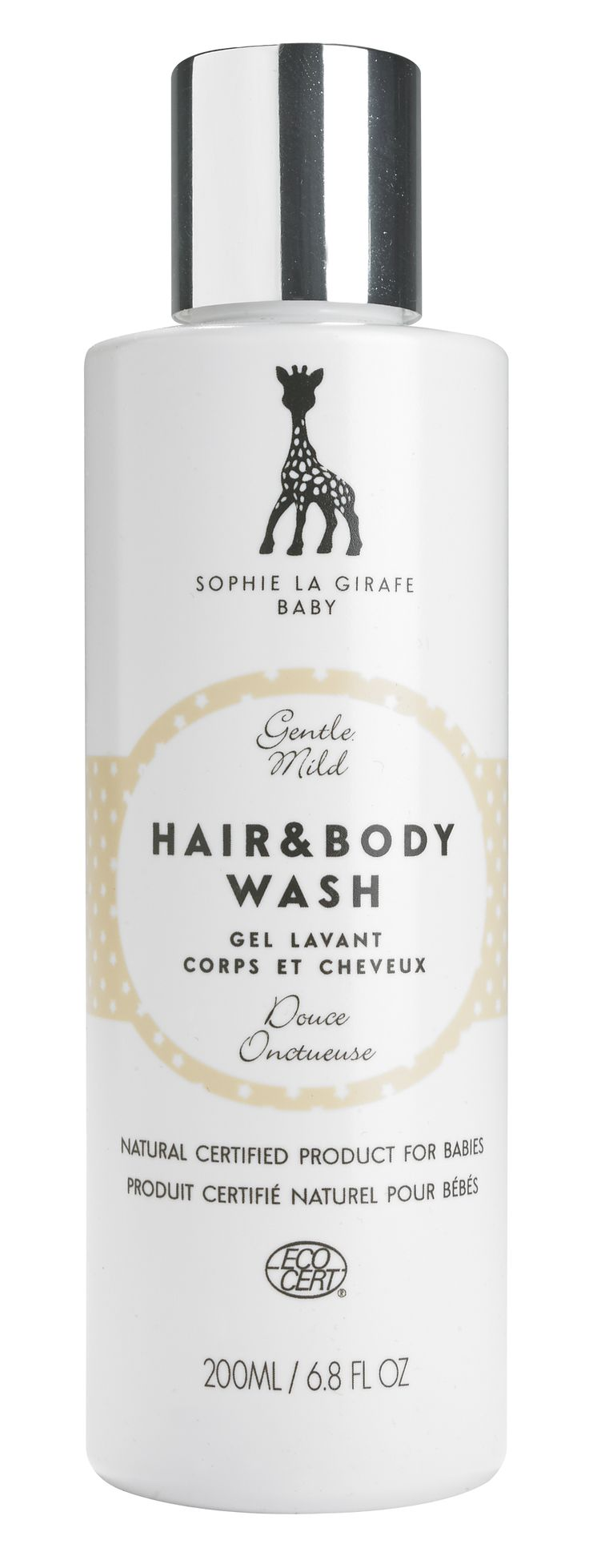Gentle, awarded skincare from the one and only Sophie la girafe.   Ecocert-certified all over shampoo with mild sophisticated natural scent. No EU-allergens. Our clients just love it! Whole family uses.   www.sophielagirafecosmetics.com