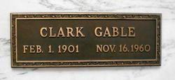 Clark Gable  Forest Lawn Memorial Park (Glendale) Los Angeles