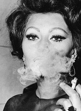 Sophia Loren at the Savoy, 1965