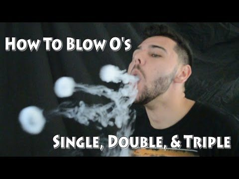 Vape Tricks Tutorial: Single, Double, Triple O's - YouTube