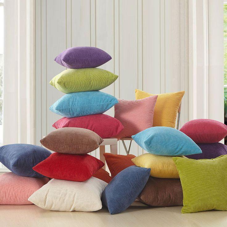 Твердые вельвет чехлы для дивана декоративные 45 x 45 см подушками бросок чехол подушки декора диване купить на AliExpress