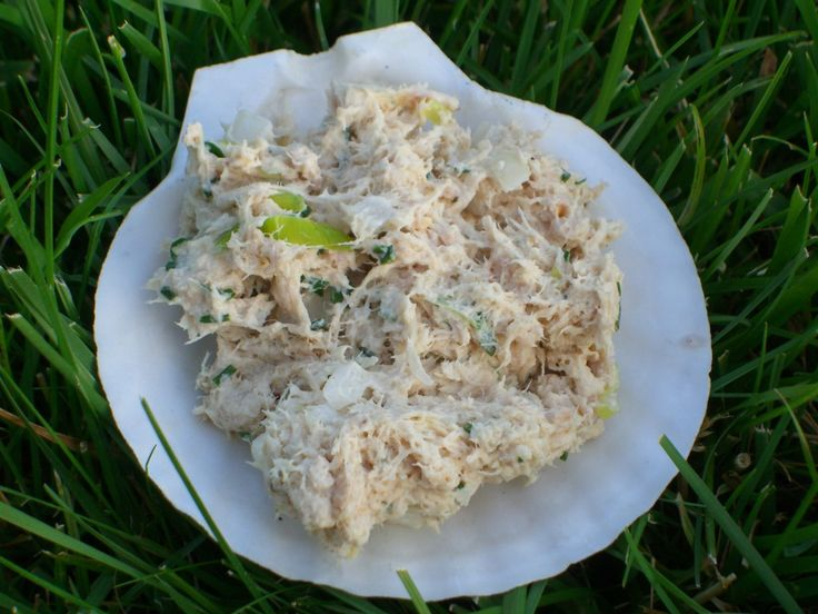 I think tuna fish is often overlooked, forgotten or people are fearful to eat it. It's a great meal or snack packed with 14 grams of protein and only 100 calories per 2 ounces. I know there are concerns of mercury levels in tuna. There is a lot of information out there and I suggest you read