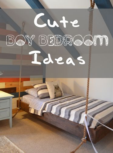 Cute Boy {and girl} Bedroom Ideas